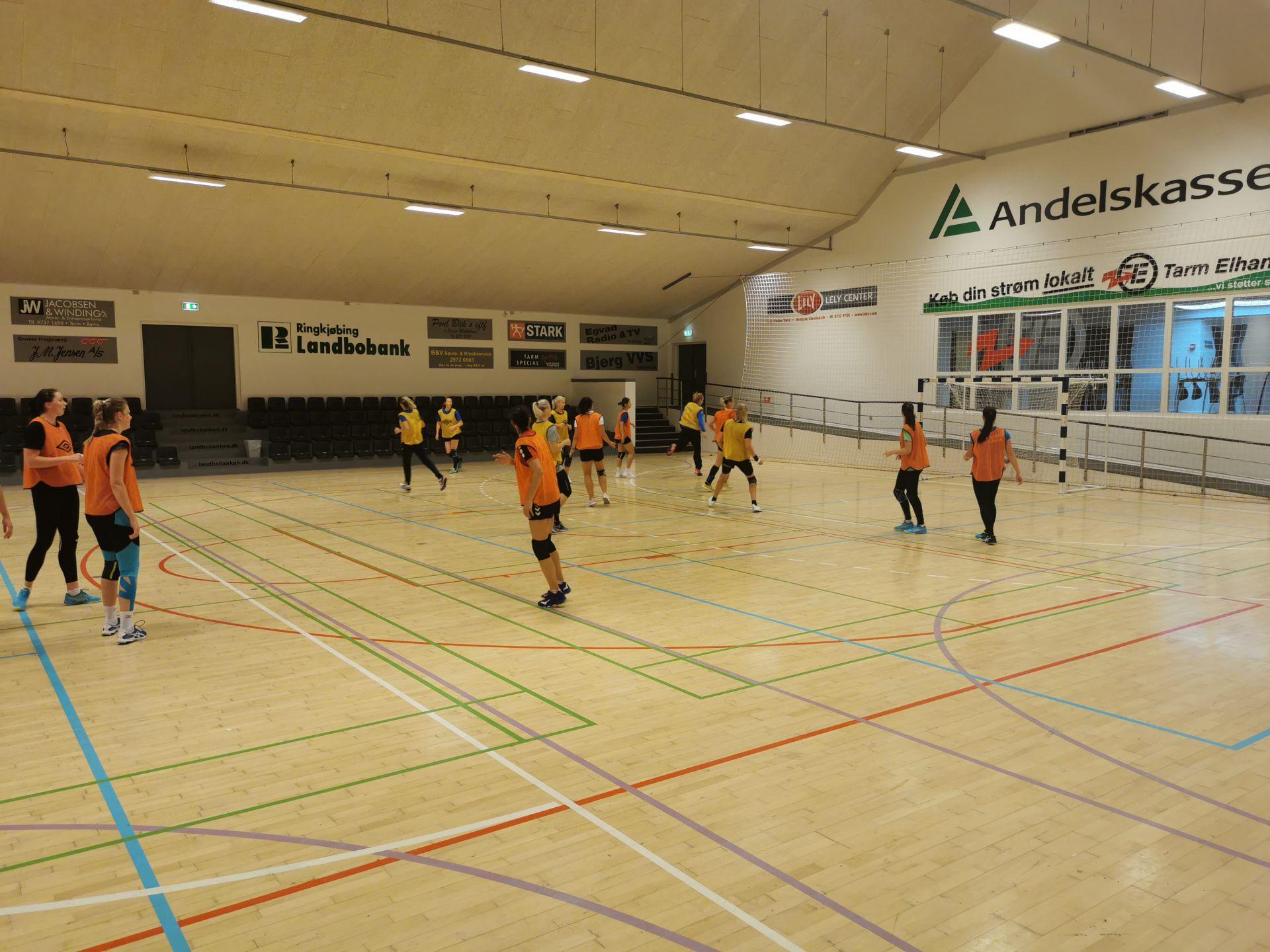 Тренировка в Дании